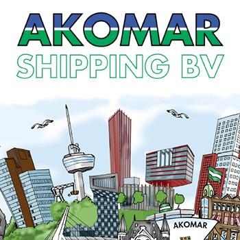 Hoofdsponsor Akomar Shipping opent kantoor in Dubai.