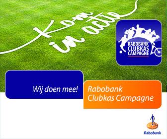 KCR doet mee aan de Rabobank Clubkas Campagne