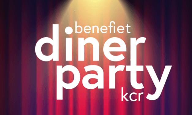 Benefiet diner party KCR