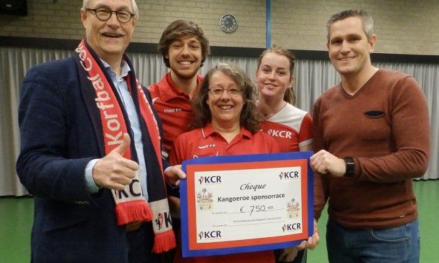 Kangoeroe sponsorrace brengt 750 Euro op voor de nieuwbouw