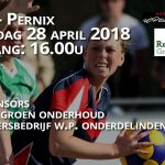 Zaterdag 28 april KCR – Pernix