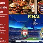 Zaterdag Tapas en Champions League Finale