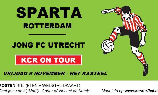 Met KCR naar een wedstrijd van Sparta Rotterdam