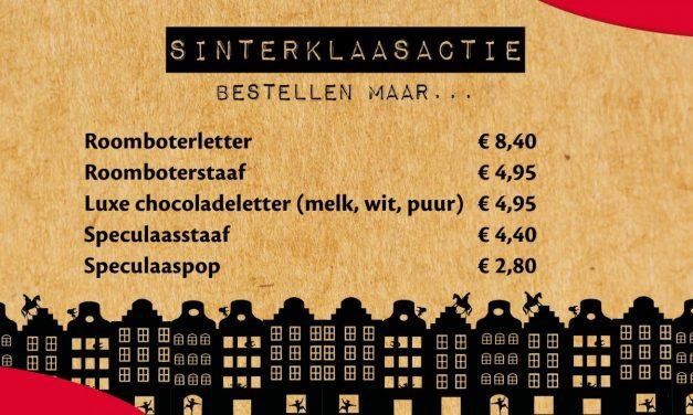 Sinterklaasactie laatste week om te bestellen!!