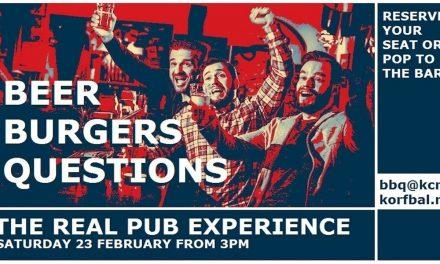 KCR English PUB Saturday 23th of February