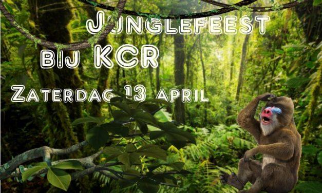 Zaterdag 13 april Junglefeest