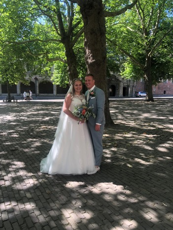 Sander en Rebecca getrouwd!