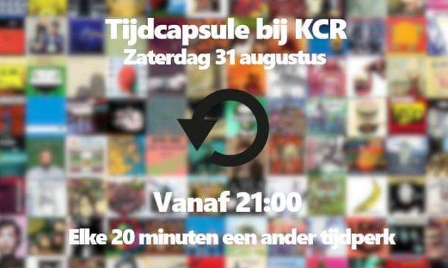 Tijdcapsule bij KCR