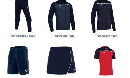 Bestel nu de nieuwe KCR-kleding!