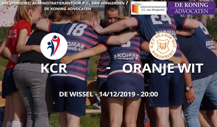 KCR – Oranje Wit