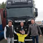 KCR feliciteert Holman Transport