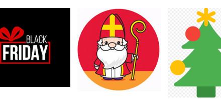Vier Black Friday, Sinterklaas en Kerst met KCR