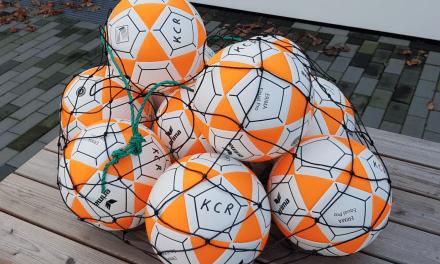 150 nieuwe ballen en ander korfbalmateriaal – verloting van 30 oude ballen