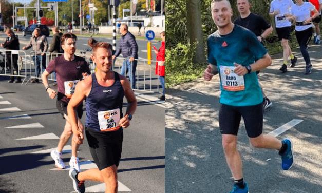 KCR in de marathon